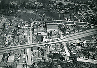 1923 Aerial View of Mack Sennett's Keystone Studios in Edendale
