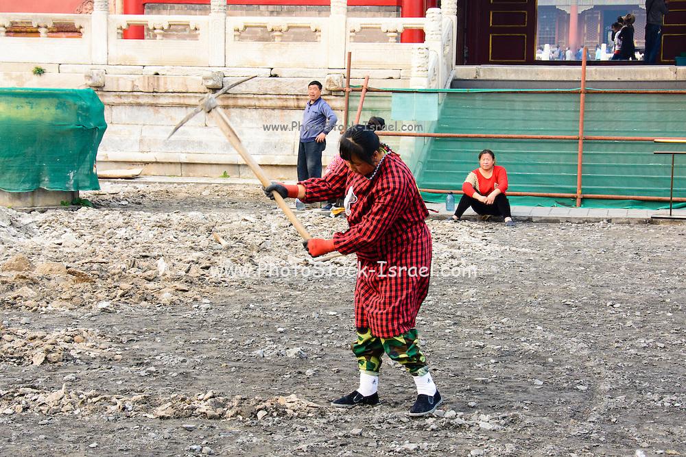 China Beijing Chinese work crew