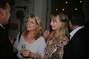 RACHEL JOHNSON AND CLEMENTINE FRASER, Dinner in aid of 'Action Trust For the Blind organised by Matthew Carr. 20th Century Theatre. Westbourne Gro. London. 26 September 2007. -DO NOT ARCHIVE-© Copyright Photograph by Dafydd Jones. 248 Clapham Rd. London SW9 0PZ. Tel 0207 820 0771. www.dafjones.com.