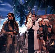 1986 Big Audio Dynamite - Medicine Show Video Shoot.