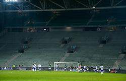 February 13, 2019 - Saint Etienne, France - Supporters de l equipe Saint Etienne - ambiance - tribune vide (Credit Image: © Panoramic via ZUMA Press)