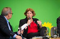 DEU, Deutschland, Germany, Berlin, 23.11.2018: Petra De Sutter, Senator, nominated by Groen (Belgium). Council of the European Green Party (EGP council) at Deutsche Telekom Representative Office.
