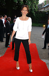 Model SAFFRON ALDRIDGE at a party to celebrate the opening of Roger Vivier in London held at The Orangery, Kensington Palace, London on 10th May 2006.<br /><br />NON EXCLUSIVE - WORLD RIGHTS