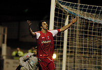 Photo: Leigh Quinnell.<br /> Hartlepool United v Swindon Town. Coca Cola League 1.<br /> 02/01/2006. Rory Fallon celebrates his goal for Swindon.