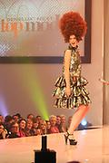 Finale Benelux Next Top Model vanuit de lichtfabriek in Haarlem.<br /> <br />  Op de foto:  Rosalinde in een jurk van Bas Kosters