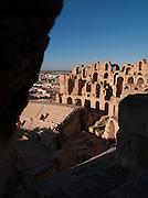 The ancient ampitheatre at El Jem, Tunisia
