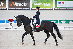 Melanie Hofmann, (SUI), Gb Cazzago C - Grand Prix Team Competition Dressage - Alltech FEI World Equestrian Games™ 2014 - Normandy, France.<br /> © Hippo Foto Team - Leanjo de Koster<br /> 25/06/14