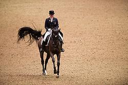 Sidsel Johansen (DEN) - Schianto<br /> Grand Prix - Reem Acra FEI World Cup Dressage Qualifier - The London International Horse Show Olympia - London 2012<br /> © Hippo Foto - Jon Stroud