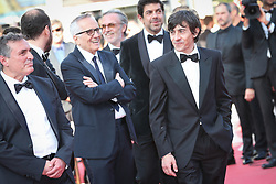 Pierfrancesco Favino, Marco Bellocchio, Luigi Lo Cascio, Fausto Russo Alesi, attend the screening of The Traitor during the 72nd annual Cannes Film Festival on May 23, 2019 in Cannes, France. Photo by Shootpix/ABACAPRESS.COM