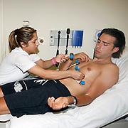 Turkish Basketball team Anadolu Efes's Sasha Vujacic during their medical control in Istanbul Turkey on Saturday 20 August 2011. Photo by TURKPIX