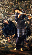 Sir Edward Coley Burne-Jones, 1833 – 1898, British artist , 'The Beguiling of Merlin', 1872-7