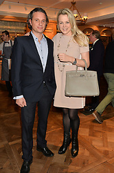 Chef SOPHIE MICHELL and OWEN CLARKE at a party to celebrate the publication of 'Let's Eat meat' by Tom Parker Bowles held at Fortnum & Mason, Piccadilly, London on 21st October 2014.