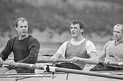 London, United Kingdom.  Oxford University Boat Club, Training Camp at St Paul's School, Hammersmith 2-12 Jan. 1990, Photography days 3 and 6th Jan. The squad training on the River Thames, [Tideway] Between the Pink House, Isleworth and Putney Hard,    <br /> Centre, Matt PINSENT. <br /> [Mandatory Credit. Peter SPURRIER Intersport Images}.<br /> <br /> Blue Boat. W, M Gaffney J J Heathcote D G Miller R J Obholzer M C Pinsent J W C Searle T G Slocock M W Watts. 1991, W, P A J Bridge N Chugani H P M ..