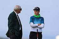 Arron Edwards-Hill (ENG) on the 1st tee during Round 4 of The West of Ireland Open Championship in Co. Sligo Golf Club, Rosses Point, Sligo on Sunday 7th April 2019.<br /> Picture:  Thos Caffrey / www.golffile.ie