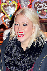 © Licensed to London News Pictures. 21/11/2013, UK. Amelia Lily, Hyde Park Winter Wonderland VIP Opening, Hyde Park, London UK, 21 November 2013. Photo credit : Richard Goldschmidt/Piqtured/LNP