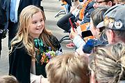 Koningsdag 2018 in Groningen / Kingsday 2018 in Groningen.<br /> <br /> Op de foto: Prinses Ariane ///  Princess Ariane