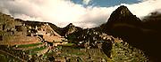 PERU, PREHISPANIC, INCA Machu Picchu and Huayna Picchu