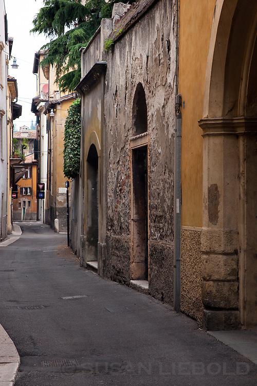 A street in Verona, Italy.