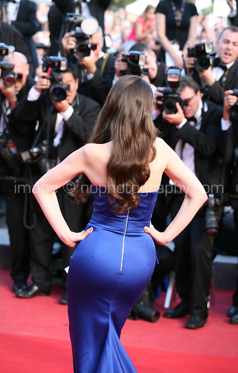 Natalia Oreiro at the On The Road gala screening red carpet at the 65th Cannes Film Festival France. The film is based on the book of the same name by beat writer Jack Kerouak and directed by Walter Salles. Wednesday 23rd May 2012 in Cannes Film Festival, France.