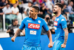 April 22, 2018 - Turin, Piedmont/Turin, Italy - Allan durig the Serie A match Juventus FC vs Napoli. Napoli won 0-1 at Allianz Stadium, in Turin, Italy 22nd april 2018 (Credit Image: © Alberto Gandolfo/Pacific Press via ZUMA Wire)