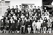 elementary school children group photo 1961 Japan