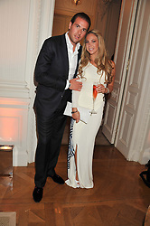 PIERRE & BIANCA LADOW at a party to celebrate Tamara Ecclestone's 28th birthday held in Tyringham, Newport Pagnell, Bucks on15th June 2012.