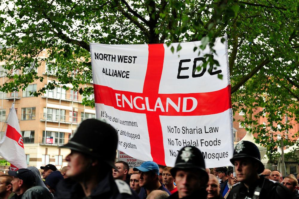 EDL March Bristol 2012