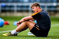 Caleb Montgomery of Worcester Warriors during preseason training ahead of the 2019/20 Gallagher Premiership Rugby season - Mandatory by-line: Robbie Stephenson/JMP - 06/08/2019 - RUGBY - Sixways Stadium - Worcester, England - Worcester Warriors Preseason Training 2019