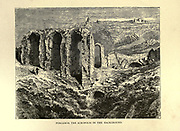Pergamos [Cyprus], The Acropolis in the background From the book ' The seven golden candlesticks ' by Tristram, H. B. (Henry Baker), 1822-1906 Published by The Religious tract society [London] in 1871