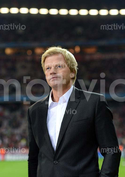 FUSSBALL   CHAMPIONS LEAGUE   SAISON 2012/2013   GRUPPENPHASE   FC Bayern Muenchen - FC Valencia                            19.09.2012 Oliver Kahn im Fernseh Interview