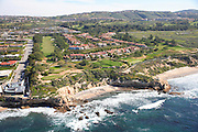 Aerial of Newport Coast Coastline