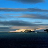 FRANZ JOSEF LAND, RUSSIA. Northbrook Island in this Arctic Ocean archipeligo.