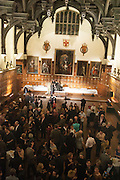 MIDDLE TEMPLE HALL, The Almeida Theatre  celebrates Mike Attenborough's 11 brilliant years as Artistic Director. Middle Temple Hall,<br /> Middle Temple Lane, London, EC4Y 9AT