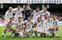 ◊Copyright:<br />GEPA pictures<br />◊Photographer:<br />Thomas Karner<br />◊Name:<br />Tschechien<br />◊Rubric:<br />Sport<br />◊Type:<br />Fussball<br />◊Event:<br />FIFA WM 2006, Qualifikation, Tschechien vs Andorra, CZE vs AND<br />◊Site:<br />Liberec, Tschechien<br />◊Date:<br />04/06/05<br />◊Description:<br />Mannschaft von Tschechien<br />◊Archive:<br />DCSTK-0406054001<br />◊RegDate:<br />05.06.2005<br />◊Note:<br />OK/JM - Nutzungshinweis: Es gelten unsere Allgemeinen Geschaeftsbedingungen (AGB) bzw. Sondervereinbarungen in schriftlicher Form. Die AGB finden Sie auf www.GEPA-pictures.com.<br />Use of picture only according to written agreements or to our business terms as shown on our website www.GEPA-pictures.com