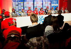 Press conference of Slovenian Biathlon Team before new winter season 2016/17, on November 10, 2016 in Petrol, Ljubljana, Slovenia. Photo by Vid Ponikvar / Sportida