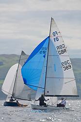 Caledonia MacBrayne Largs Regatta Week 2016<br /> <br /> FLYING DUTCHMAN, 389, WLYC, Glyn Sheffield, Chris Rutter<br /> <br /> Credit Marc Turner / PFM Pictures.co.uk