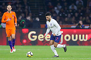 England midfielder Alex Oxlade-Chamberlain during the Friendly match between Netherlands and England at the Amsterdam Arena, Amsterdam, Netherlands on 23 March 2018. Picture by Phil Duncan.