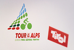17.02.2017, Tirol Berg, Hochfilzen, AUT, Vorstellung Tour of the Alps, Pressekonferenz, im Bild Tour of Alps und das Tirol Logo // during Presentation of the Tour of the Alps Cylcling Race at the Tirol Berg, Hochfilzen, Austria on 2017/02/17. EXPA Pictures © 2017, PhotoCredit: EXPA/ JFK