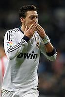 01.12.2012 SPAIN -  La Liga 12/13 Matchday 14th  match played between Real Madrid CF vs  Atletico de Madrid (2-0) at Santiago Bernabeu stadium. The picture show Mesut Ozil (German midfielder of Real Madrid)