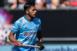 Harmanpreet Singh of India during the Champions Trophy finale between the Australia and India on the fields of BH&BC Breda on Juli 1, 2018 in Breda, the Netherlands.