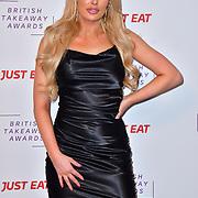 Chloe Crowhurst attend the British Takeaway Awards 2020 on 27th January 2020, Savoy Hotel, Strand, London, UK.