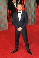 Leonardo DiCaprio, EE British Academy Film Awards 2016 (BAFTAs), Royal Opera House, London UK, 14 February 2016, Photo by Richard Goldschmidt