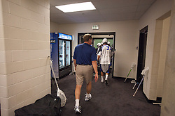 31 May 2010: Duke Blue Devils head coach John Danowski heads to the field to play the Notre Dame Irish in the NCAA Lacrosse Championship at M&T Bank Stadium in Baltimore, MD.  The Blue Devils would go on that day to win the national title.