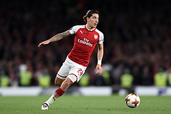 Hector Bellerin of Arsenal in possession - Mandatory by-line: Patrick Khachfe/JMP - 14/09/2017 - FOOTBALL - Emirates Stadium - London, England - Arsenal v Cologne - UEFA Europa League Group stage
