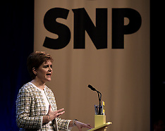 Nicola Sturgeon launches SNP manfisto, Glasgow, 27 November 2019