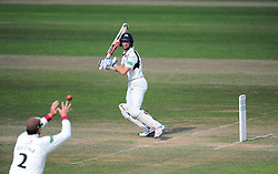 John Simpson of Middlesex is dropped by Marcus Trescothick of Somerset.   - Mandatory by-line: Alex Davidson/JMP - 13/07/2016 - CRICKET - Cooper Associates County Ground - Taunton, United Kingdom - Somerset v Middlesex - Day 4 - Specsavers County Championship Division One