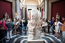 Rome - 2013 - Musei  Vaticani - Statua di Ercole