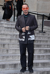 J Balvin attending the Valentino Menswear Spring Summer 2020 show as part of Paris Fashion Week in Paris, France on June 19, 2019. Photo by Aurore Marechal/ABACAPRESS.COM