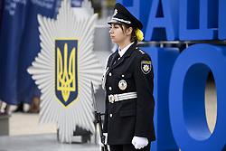 July 4, 2018 - Kiev, Ukraine - Solemn events on the occasion of National Police Day in Kyiv, Ukraine. 04-07-2018  (Credit Image: © Maxym Marusenko/NurPhoto via ZUMA Press)