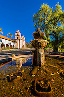 Mission Santa Barbara, Santa Barbara, California USA.